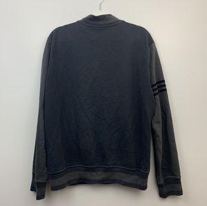 Adidas Originals Bomber Button Sweatshirt Jacket M